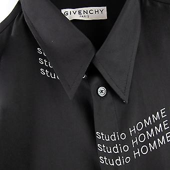 Givenchy Studio Homme Shirt Schwarz