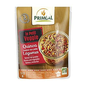 Quinoa real cooked with vegetables 220 g