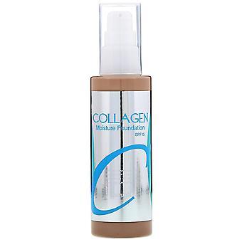 Enough, Collagen, Moisture Foundation, SPF 15, #23, 3.38 fl oz (100 ml)