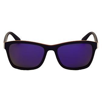 Sunglasses Unisex Sport Blue / Orange