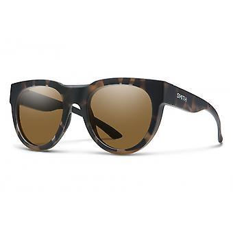 Sonnenbrille Unisex Kreuzritter    dunkelbraun havanna/ braun