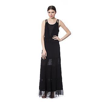 Silvian Heach Black Dress SI996500-XXS