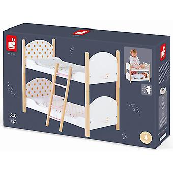 Janod Candy Chic Dolls Bunk Beds