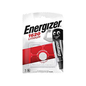 Energizer CR1620 Coin Lithium Battery Single ENGCR1620