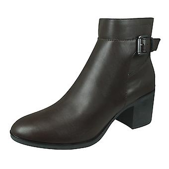 Geox D Asheel A Womens Ankle Boots - Coffee
