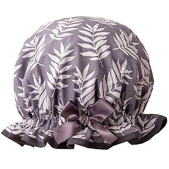 Dilly Daydream Grey Ferns Shower Cap