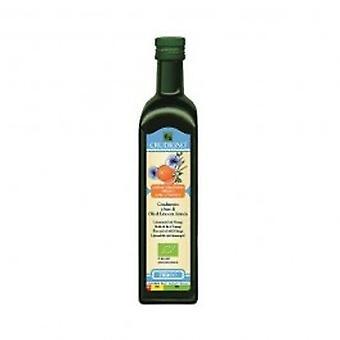 Crudigno - Cold Pressed Flax Seed Oil With Orange 250ml