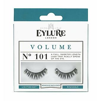 Eylure Volume Handmade False Black Wimpers - 101 - Lash Lijm is inbegrepen