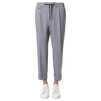 Traiano Tp18tfdot828 Men's Grey Nylon Pants