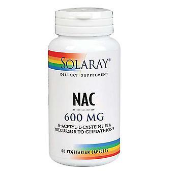 Solaray NAC, 600 mg, 60 Caps