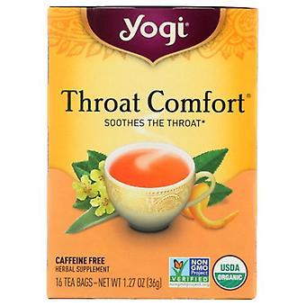 Yogi Tea- Throat Comfort, NA, 16 Bags