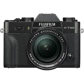 FUJIFILM X-T30 Black KIT XF 18-55mm F2.8-4 Black