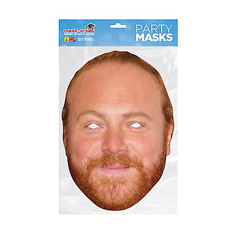 Mask-arade Leigh Francis Celebrities Party Face Mask