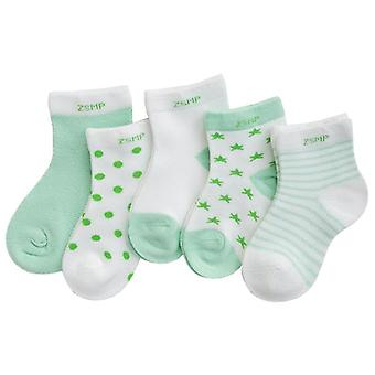 Baby Summer Mesh Breathable Cotton Socks Children Kids Boys Girls Short Sock 0-8 Years