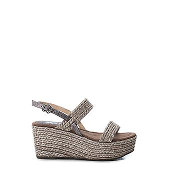 Xti 48800 women's ankle strap buckle wedges