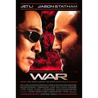 Krieg-Film-Poster (11 x 17)