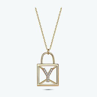 Collar de oro Carta Y