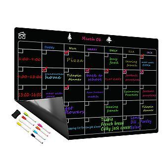Magnetische Kalender Maandelijks Whiteboard - Koelkast Magnetisch Krijtbord