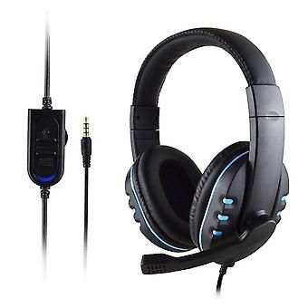 Gaming Headset Stereo Surround Hodetelefon Kablet Mikrofon For Laptop / Gamer Hodetelefon