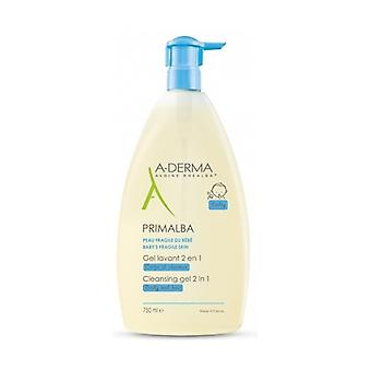 Primalba 2 In 1 Cleansing Gel 750 ml of gel