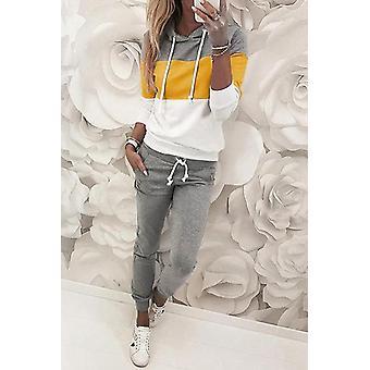 Dragsko Design Colorblock Sport Hooded Topp & Byxa