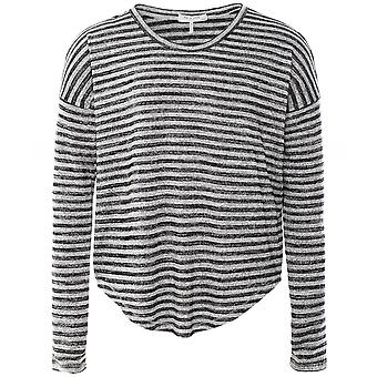 Rag and Bone The Knit Striped Long Sleeve Top