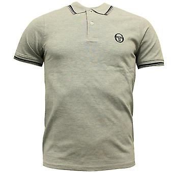 Sergio Tacchini Mens Polo Top Grey T-Shirt Smart Casual 37387 912 DD38