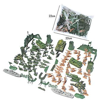 Military sand table scene military base Plastic soldiers 5cm for B Crops Army