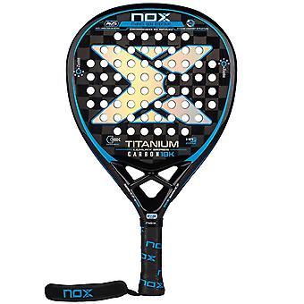 Nox, Padelracket - Luxury Titanium 18K 2021