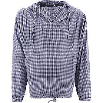 Acne Studios B90524navypalegreen Men's Blue Polyester Outerwear Jacket