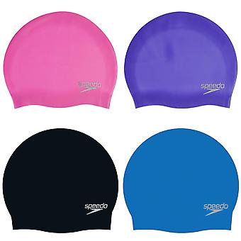 Speedo Unisex Adulto 3D Silicone Swim Cap