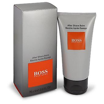 Boss In Motion After Shave Balm By Hugo Boss 2.5 oz After Shave Balm