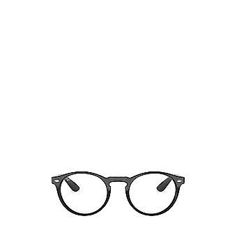 Ray-Ban RX5283 kiiltävä musta unisex silmälasit