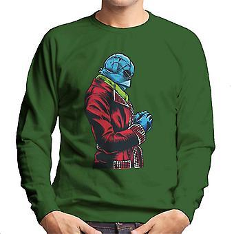 The Invisible Man Red Suit Men's Sweatshirt
