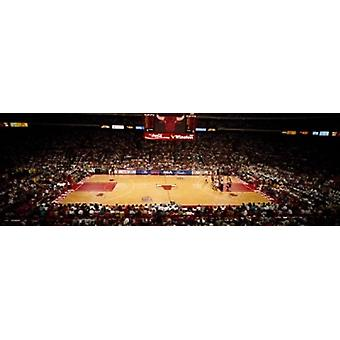 NBA Finals Bulls vs Suns Chicago Stadium Poster Print by Panoramic Images (36 x 12)