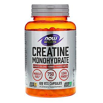 Now Foods, Sports, Creatine Monohydrate, 750 mg, 120 Veg Capsules