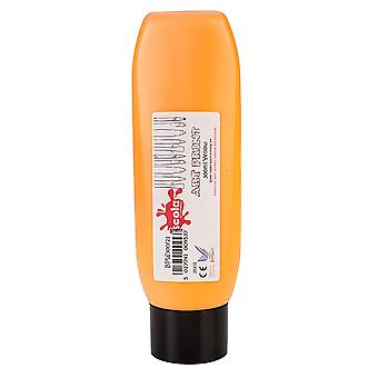 Scola BPW300/21 Block/Lino Printing Ink 300ml Solids Bright Yellow