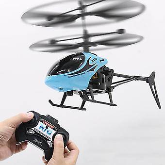 Mini infrarood inductie Remotecontrol Rc Speelgoed 2ch Gyro Helikopter / drone