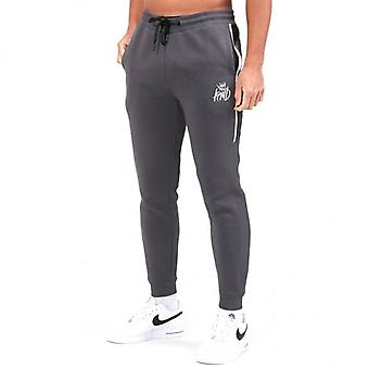 Kings Will Dream Beckley Grey Jersey Jog Bottoms