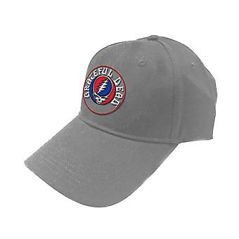 Grateful Dead Baseball Cap Steal Your Face Band Logo new Official Grey Unisex