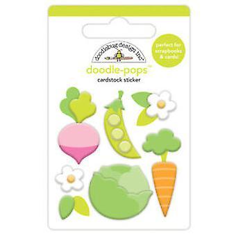 Doodlebug Design kleiner Garten Doodle-Pops