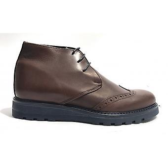 Мужская обувь Tony Wild Polacchino Brogue Кожа Темно-коричневый Цвет U18tw16
