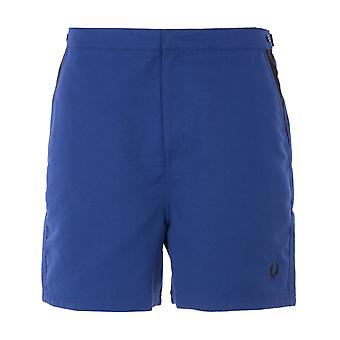 Fred Perry Contrast Panel Swim Shorts - Navy