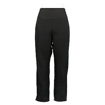 Women with Control Women's Petite Pants Reversibles Slim Leg Brown A390043