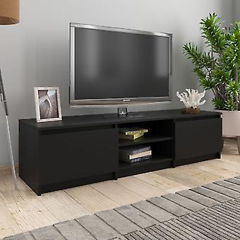 vidaXL armoire TV 140×40×35,5 cm panneau de particules
