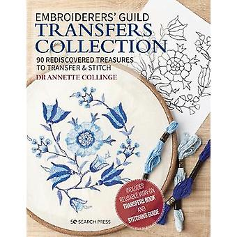 Embroiderers Guild Transfers Collection 90 rediscovered treasures to transfer  stitch