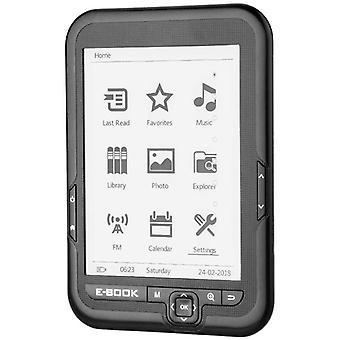 HanFei E-Reader, tragbarer 6-Zoll-USB2.0-E-Paper-E-Book-Reader Einfache Lesbarkeit Digitales Buch