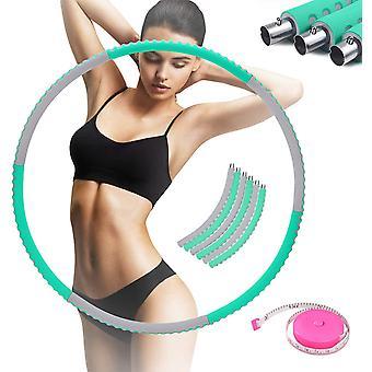 FengChun Hula Hoop Reifen Erwachsene, Einstellbares Gewicht Hoola Hoop Hulahoopreifen fr Erwachsene
