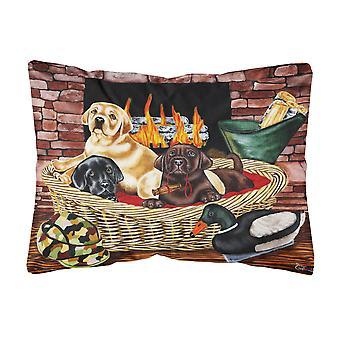 Caroline's Treasures Il cuscino decorativo in tessuto labrador di nuova generazione, 12 x 16, multicolore