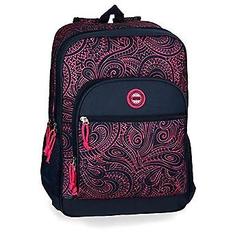 Movom Paisley Double Compartment Backpack Adaptable to Multicolor Trolley 32x45x15 cms Polyester 0 21.6L